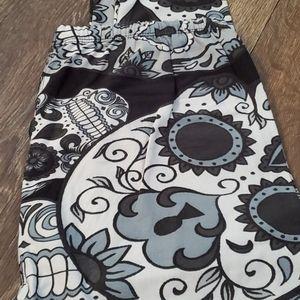 Pants - Sugar skull leggings